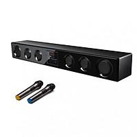 Bộ Sản Phẩm Hát Karaoke Gia Đình Loa Soundbar 5.1 Bluetooth TVS 600k Tặng Kèm 2 Micro Không Dây Cao Cấp