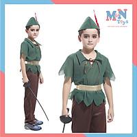Đồ hóa trang Peter Pan - Robin Hood Hoàng tử thợ săn cho bé B-0062