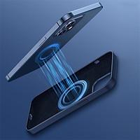 Ốp lưng chống sốc tích hợp nam châm Baseus Liquid Silica Gel Magnetic Case cho iPhone 12 Mini / 12 / 12 Pro / 12 Pro Max _Hàng Nhập Khẩu