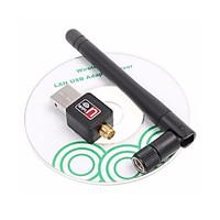 USB Thu Sóng Wifi KhoNCC Hàng Chính Hãng - Có Angten Bắt Sóng Cho Máy Tính Bàn, Laptop Hư Wifi - KPD-2652-USBThuWifi