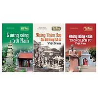 Combo Tủ sách lịch sử - Kể chuyện danh nhân Việt Nam (Bộ 3 cuốn)