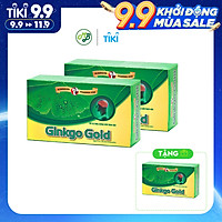 COMBO 2 TẶNG 1 TPCN viên uống GINKGO GOLD hỗ trợ tăng tuần hoàn não,giảm căng thẳng mệt mỏi,tăng cường trí nhớ-hộp 30 viên