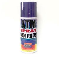 Sơn Xịt ATM Spray A240 ( Màu tím ) cao cấp , bền màu, lâu trôi , dễ sử dụng