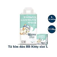 COMBO 2 Tã Bỉm BB Kitty nội địa Trung Dán Quần đủ size từ 2-18kg