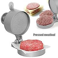 Kitchen DIY Tool Burger Press Hamburger Patty Maker Meat Aluminum Alloy