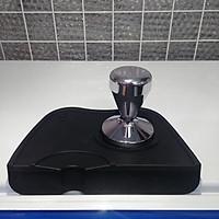 Combo tamper nén cà phê Inox và đế cao su size lớn - Tamper 58mm