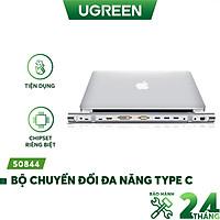 Bộ chuyển đổi đa năng USB type C hỗ trợ 13 cổng đầu ra, cáp dài 0.5m UGREEN MM131 - Hàng chính hãng