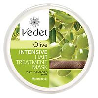 Mặt Nạ Ủ Tóc Olive Suôn mượt Vedette (110g)
