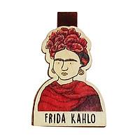 Bookmark gỗ nam châm Frida Kahlo