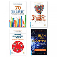 Combo 4 cuốn Dạy con theo Phương pháp SHICHIDA
