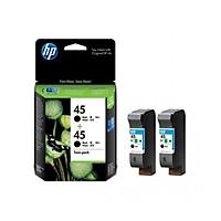 Mực in Phun HP 45 2-pack Black Original Ink Cartridges Đen (CC625AA) - Hàng Chính Hãng