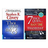 Combo7 Thói Quen Của Bạn Trẻ Thành Đạt (Tái Bản) + Thói Quen Thứ 8 (Tái Bản) (2 Cuốn)