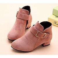 GB07H - Giày boot cho bé gái phong cách hàn quốc