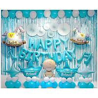 Set trang trí sinh nhật ( tặng kèm bơm bóng)