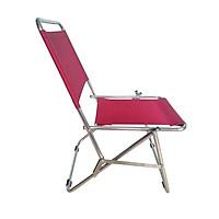 Ghế xếp inox loại trung Thanh Long GXI-L01 44 x 42 x 66 cm (Đỏ Đô)