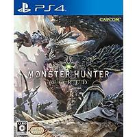 Đĩa Game Ps4: Monster Hunter World - Hàng nhập khẩu