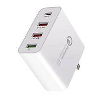 Củ sạc nhanh 48W Qualcomm PD- Quick Charge 3.0 - 4 cổng