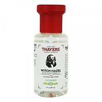 Nước hoa hồng không cồn THAYERS Witch Hazel Aloe Vera Formula Alcohol-Free Toner - Cucumber 89ml (Mini Size)