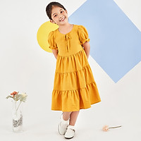 Váy đầm cho bé gái cao cấp Econice V002. Size 5, 6, 7, 8, 10 tuổi mặc mùa hè