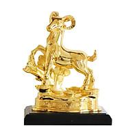 Tượng Dê phong thủy mạ vàng size lớn - Quà tặng mừng Sếp tuổi Mùi