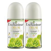 Bộ Đôi Lăn Khử Mùi Hương Nước Hoa Enchanteur 50ml/chai