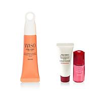 Bộ sản phẩm Tinh chất dưỡng mắt Shiseido WASO Eye Opening Essence 20ml-15617