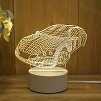Đèn ngủ 3D hình OTO, XE HƠI lạ mắt