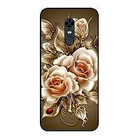 Ốp Lưng in cho Xiaomi Redmi 5 Plus Mẫu Hoa Hồng 3 - Hàng Chính Hãng