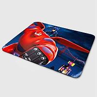 Miếng lót chuột mẫu Baymax Bảy Màu (20x24 cm) - Hàng Chính Hãng