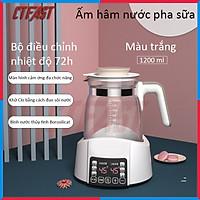 Máy hâm nước pha sữa, pha trà, pha cafe CTFAST - Miusuta 2021 ( 1200ml ) : Đun nước siêu tốc, tùy chỉnh và giữ nhiệt độ thông minh, điều khiển cảm ứng an toàn tiện dụng