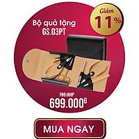 Bộ Sản Phẩm Kềm Nghĩa Mạ Vàng GS03 PT 6 dụng cụ Kềm Cắt Da Kềm Cắt Móng Tay Bấm Móng Chân Kéo Cắt Tỉa Lông Mày Nhíp Nhổ Lông Mũi Cây Sủi Da Cao Cấp Chuyên Nghiệp Phù Hợp Quà Tặng Cho Nam Nữ Gia Đình Bé Trẻ Em