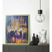 Tranh treo tường Northern Lights - vẽ màu acrylic thủ công