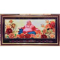 Tranh lịch vạn niên Phật Di Lặc - MS648