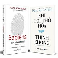 Sách - Combo Sapiens và Khi hơi thở hóa thinh không (Bìa cứng)
