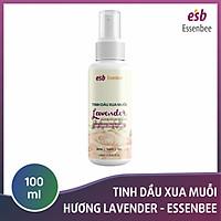 Tinh dầu xịt xua muỗi Lavender – Essenbee – 100ml - An toàn khi sử dụng cho không gian có trẻ em