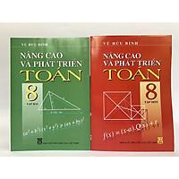 Bộ 2 cuốn sách Nâng cao và phát triển Toán 8 (tập 1+2 )