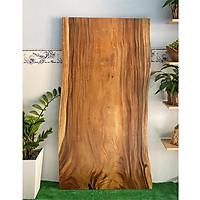 Mặt bàn gỗ me tây nguyên tấm KT 4.5x80x160cm