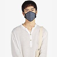 Khẩu trang thời trang cao cấp Soteria Blueline ST012 - Khẩu trang vải than hoạt tính [size S,M,L]