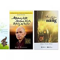 Combo 2 cuốn: Không Diệt Không Sinh Đừng Sợ Hãi, An Nhiên Như Nắng (kèm bookmark danh ngôn hình voi)