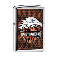 Bật Lửa Zippo 28265 Harley Davidson Eagle Polished Chrome