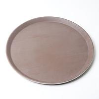 Khay phục vụ size lớn dạng tròn chống trơn, trượt nhựa cao cấp KV01 – Gia dụng bếp
