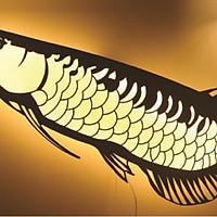 Đèn gắn tường hình cá RB LIGHTING