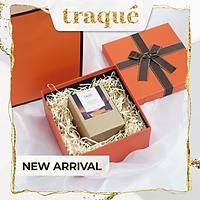 Set hộp quà + túi giấy cao cấp  – xanh ngọc tiffany, cam hermes trang trí nơ
