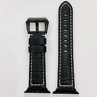 Dây đeo cho Apple Watch hiệu Kakapi Leather Ds size 38 mm - Hàng nhập khẩu