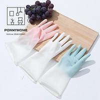 Găng, Gang tay cao su chống thấm giặt đồ, rửa bát 2 màu cực bền