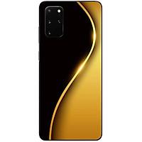 Ốp lưng dành cho Samsung S20 Plus, S20+ mẫu Đường cong chữ S vàng
