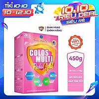 Sữa bột Colosmulti Pedia Gold hộp 28 gói x 16g chuyên biệt giúp bé ăn ngoan