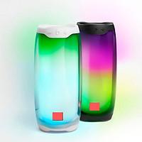 Loa Không Dây Bluetooth Pluse 4 Có Đèn 360 Độ, Thiết Kế Đẹp Mắt, Âm Thanh Chất Lượng, Hiển Thị Thời Lượng Pin, Tích Hợp Đèn Nhiều Màu Làm Trang Trí Decor