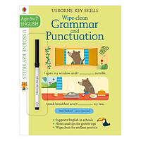 Usborne Usborne Key Skills Wipe-clean Grammar and Punctuation 6-7