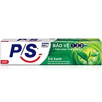 Kem Đánh Răng P/S Bảo Vệ 123 Trà Xanh 190g với tinh chất trà xanh thanh nhiệt giúp mang lại cảm giác mát dịu